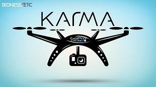 Karma – Thiết bị bay không người lái đầu tiên của GoPro