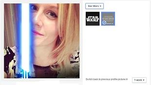 Facebook 'ăn theo' phim Star Wars với avatar mới