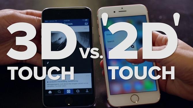 Liệu 3D Touch có thực sự hữu dụng với người dùng?