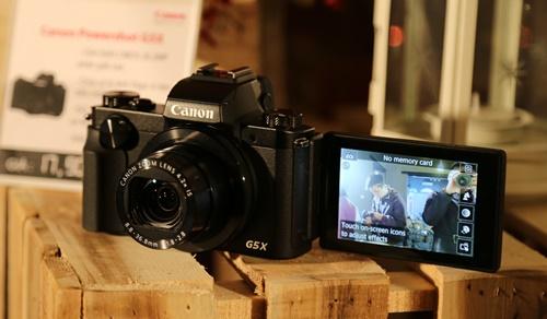 Trên tay, chụp thử Canon PowerShot G5 X, G9 X và EOS M10 vừa ra mắt tại Việt Nam