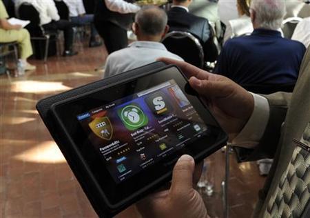 RIM bác tin đồn dừng sản xuất máy tính bảng PlayBook