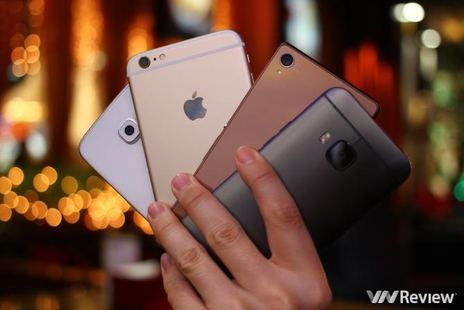Thị trường smartphone cao cấp: Phiên chợ cuối năm kém vui