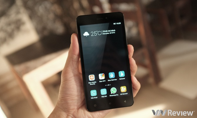 Cận cảnh smartphone Gionee P5W giá 1,9 triệu đồng