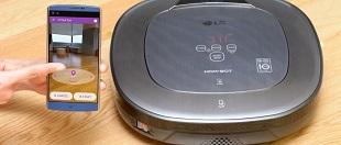 LG công bố máy hút bụi trang bị công nghệ thực tế ảo