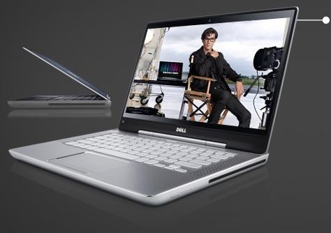 """Laptop Dell XPS z 14 inch """"mỏng như mình hạc"""""""