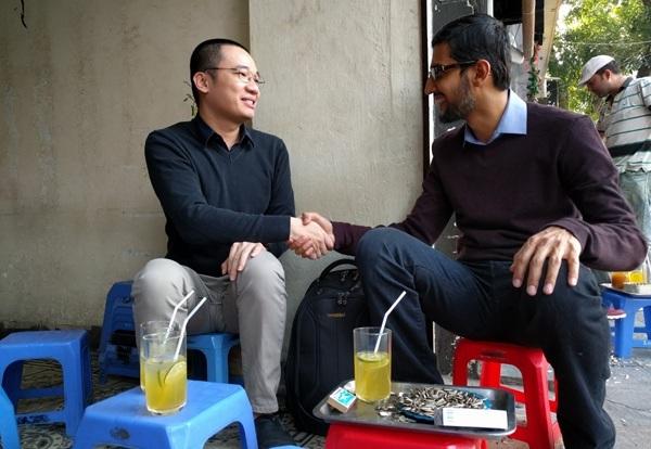 Những thông tin hữu ích thu được từ chuyến thăm Việt Nam của CEO Google