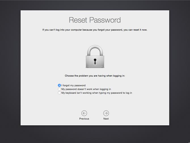 Làm gì khi bạn quên mật khẩu đăng nhập MacBook?