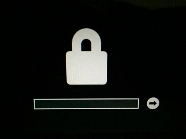 filevault mac cannot get past firmware lock