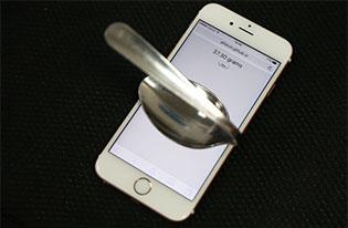 Dùng iPhone 6s làm cân tiểu ly có chính xác không?