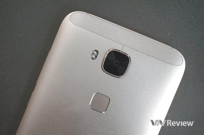 Trải nghiệm tính năng cảm biến vân tay trên Huawei G7 Plus