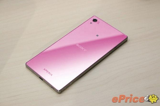 Sony Xperia Z5 phiên bản màu hồng sẽ được phát hành trong tháng Giêng 2016