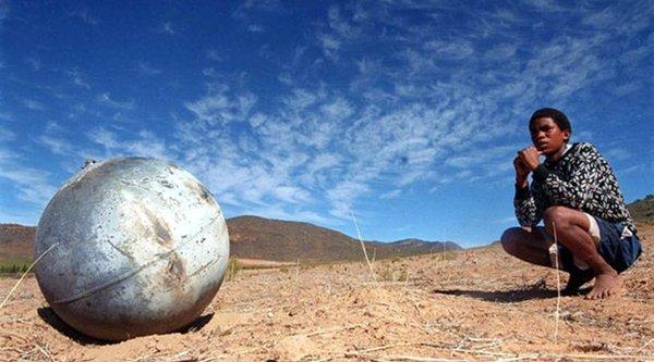 Vật thể lạ hình cầu ở Việt Nam có thể chỉ là rác vũ trụ