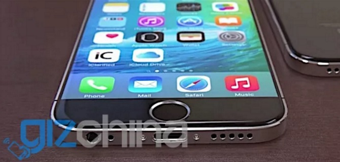 Lộ diện ảnh render mới của iPhone 7 tại Trung Quốc