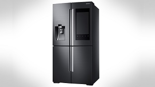 Samsung trình làng tủ lạnh có camera và màn hình 21.5 inch