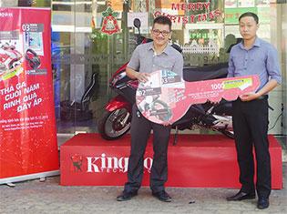 Kingston công bố kết quả chương trình khuyến mãi cuối năm