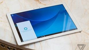 Samsung trình làng tablet lai Galaxy TabPro S chạy Windows 10