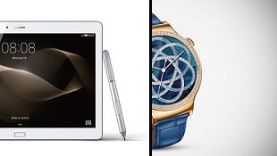 Huawei ra mắt tablet 10 inch vỏ kim loại cùng 2 smartwatch mới