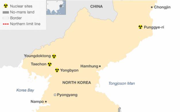 Triều Tiên: động đất 5.1 độ richter gần khu vực thử nghiệm hạt nhân
