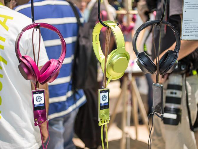 Trong khuôn khổ sự kiện CES năm nay, Sony đã mang tới một loạt các sản phẩm âm thanh cao cấp.