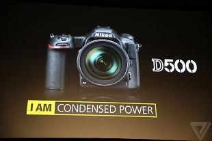 Nikon D500 trình làng