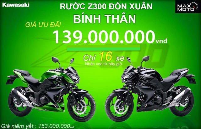 Bảng giá xe Kawasaki tháng 8/2016 mới nhất tại Việt Nam 2