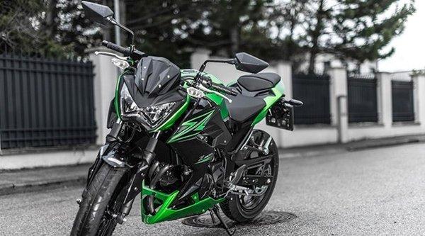 Kawasaki Z300 phiên bản ABS có giá 153 triệu đồng ở Việt Nam