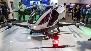Hãng Trung Quốc trình làng drone chở người tốc độ 100 km/h