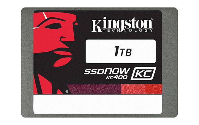 Kingston ra mắt ổ SSD KC400 cho khách hàng doanh nghiệp