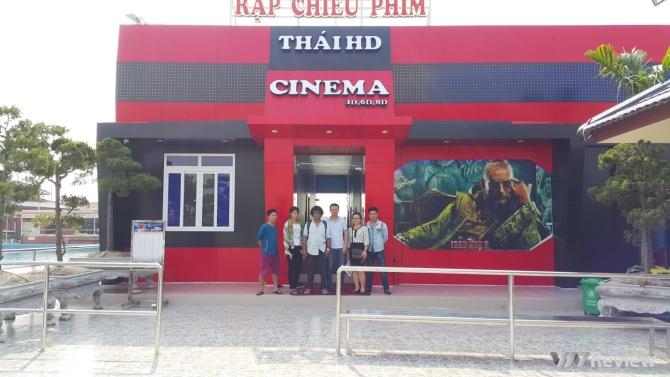 Rạp chiếu phim 8D lần đầu xuất hiện tại miền Bắc