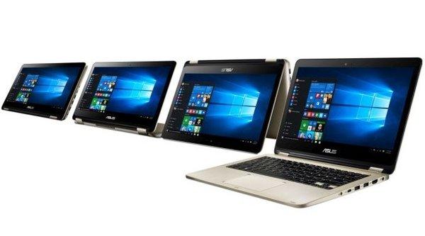 Asus trình làng dòng Vivobook Flip xoay lật mới, hỗ trợ USB Type-C