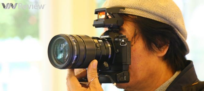 Trên tay, chụp thử loạt máy ảnh Olympus vừa ra mắt tại Việt Nam