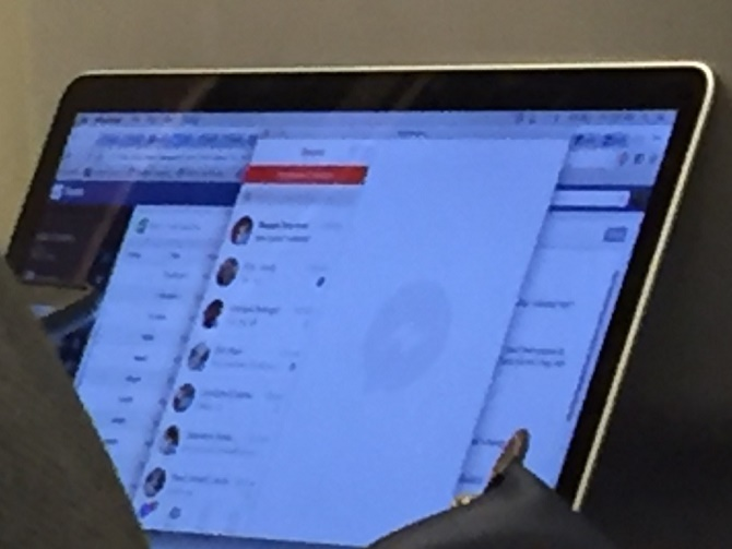 Sắp có Facebook Messenger cho máy Mac