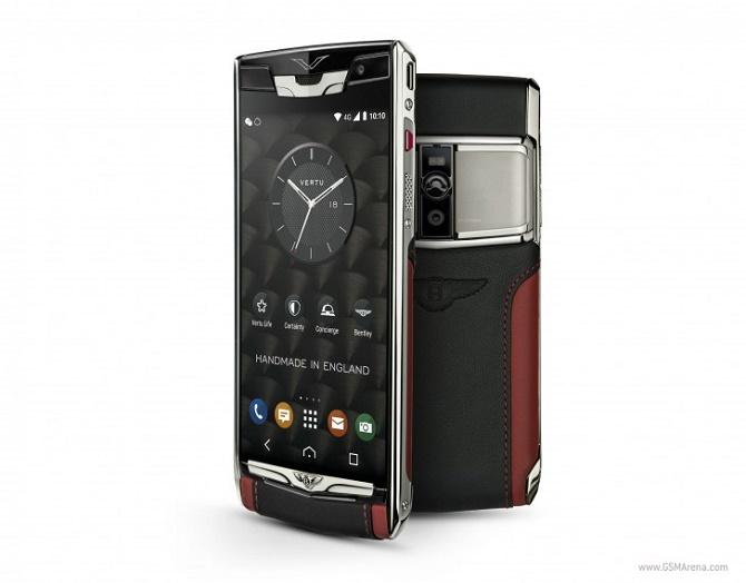 Vertu hợp tác với Bentley ra smartphone giá 200 triệu