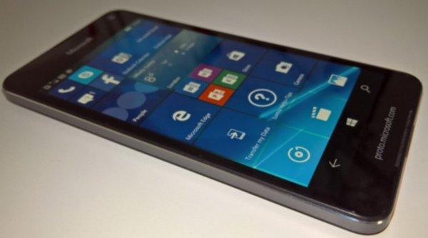 Rò rỉ hình ảnh và thông số kỹ thuật Lumia 650, kém Lumia 640