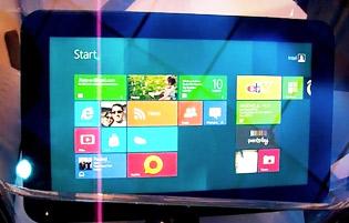 Intel công bố cấu hình của máy tính bảng Windows 8