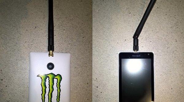 'Độ' anten Wi-Fi và quạt cho... Lumia 520