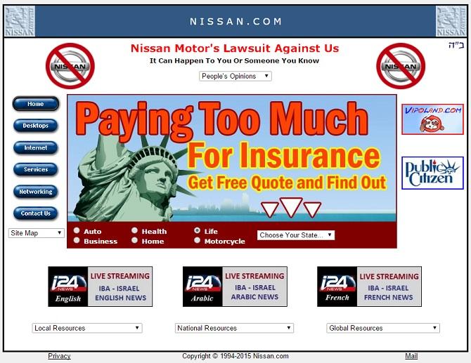 2 trong số các trang web chính của Nissan đã bị Anonymous đánh sập ngay khi sự kiện triển lãm ô tô quan trọng nhất thế giới đang diễn ra tại Detroit.
