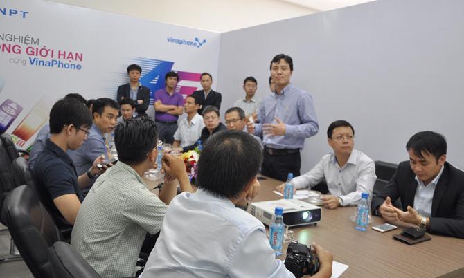 Thử nghiệm mạng 4G của Vinaphone đạt tốc độ tối đa 245 Mbps