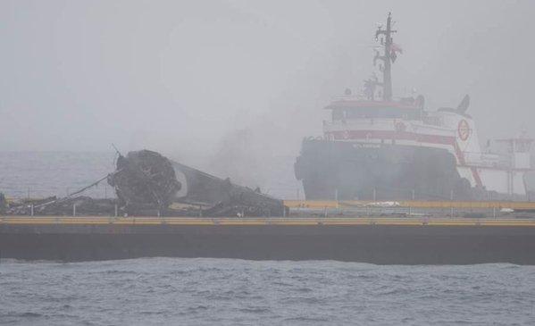 Sau khi thành công trên mặt đất, Falcon 9 vẫn chưa thể hạ cánh thành công trên mặt biển.