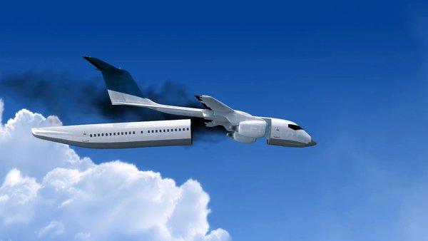 Phát minh cabin máy bay có thể tự tách rời trong trường hợp khẩn cấp