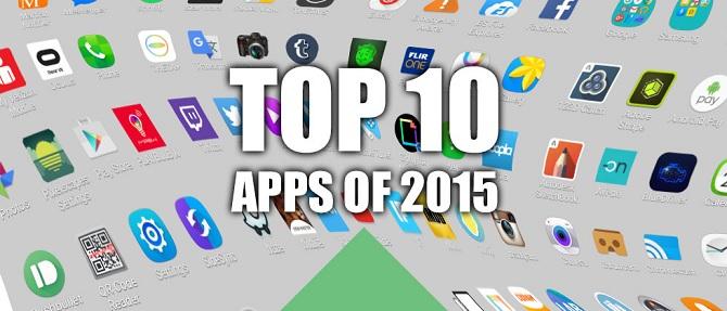Top ứng dụng được tải nhiều nhất, dùng nhiều nhất 2015