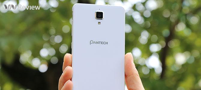 Trên tay điện thoại Pantech V950 sắp bán tại Việt Nam