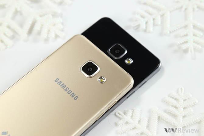 Trên tay bộ đôi Samsung Galaxy A5 và A7 (2016)