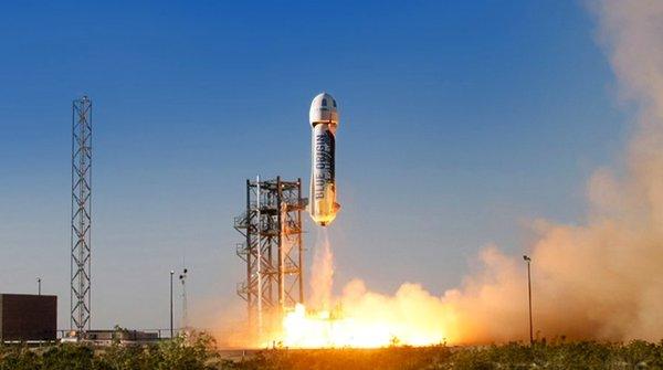 Đối thủ của SpaceX - Blue Origin lại hạ cánh tên lửa thành công