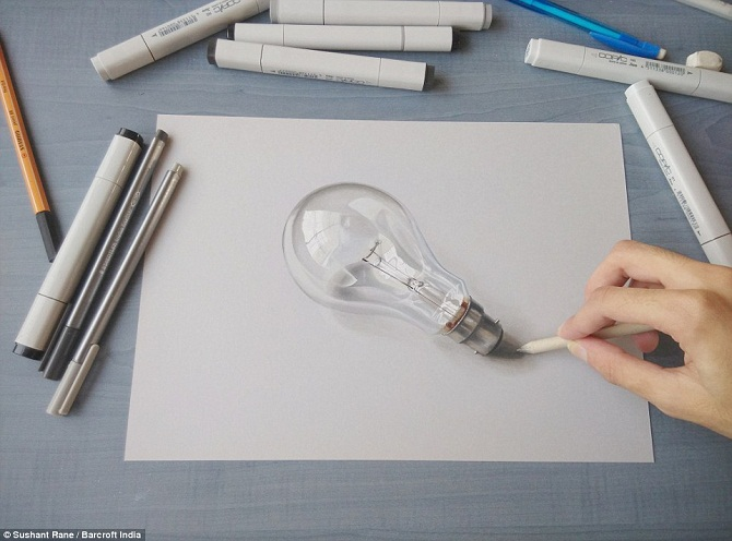 """Những hình vẽ """"siêu thực"""" của chàng họa sĩ 19 tuổi"""