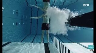 """Nhà vật lý dũng cảm lấy thân mình """"đỡ đạn"""" dưới nước"""