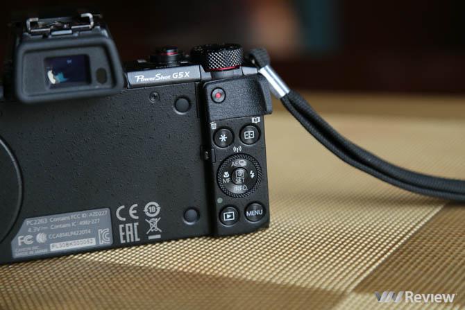 Đánh giá Canon PowerShot G5 X