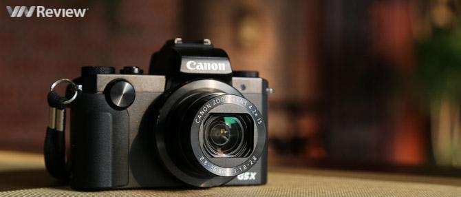 Đánh giá nhanh Canon PowerShot G5 X