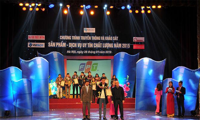 FPT Services đạt giải thưởng dịch vụ tin học uy tín