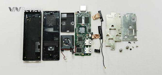 """VnReview mổ """"máy tính tí hon"""" USB Compute Stick của Intel"""